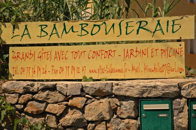 Bambouseraie Labeaume bâtiment 1l