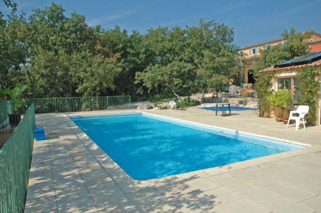 Bambouseraie, Piscine poolhouse 1