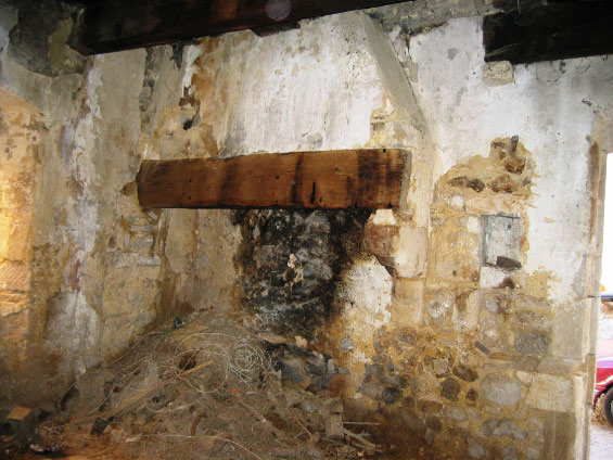 Cheminée Labastide de Virac 4