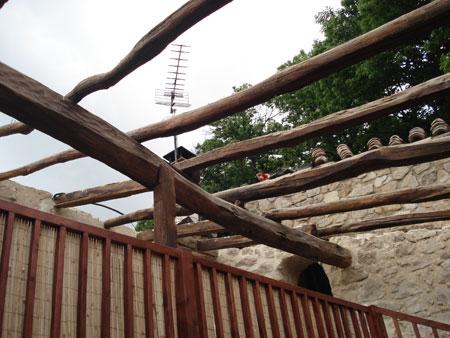 Lentillere, Rénovation d'une toiture 3