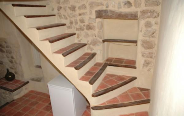 Construction escalier ancien