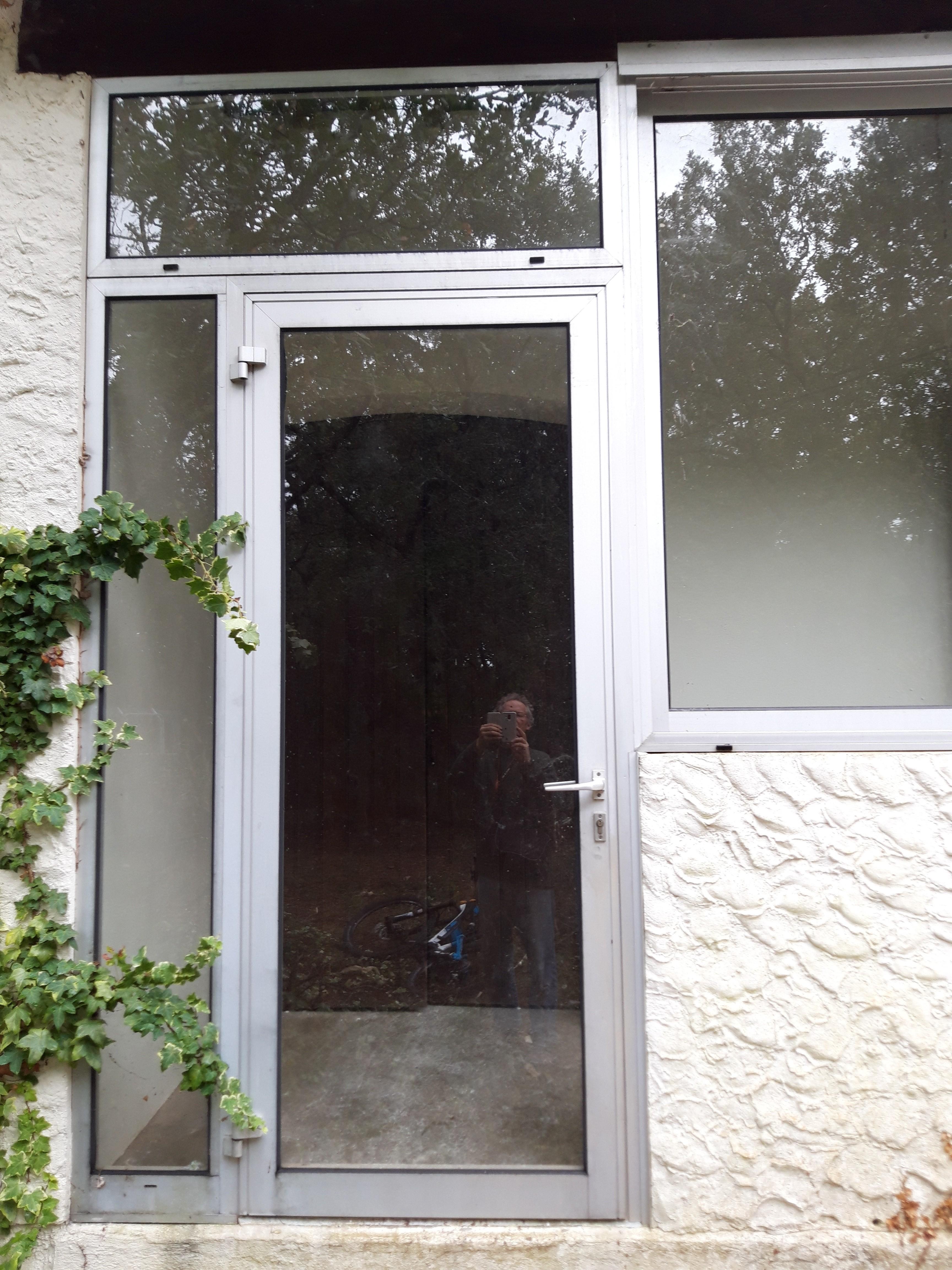 Encadrement porte pierre reconstituée (2)