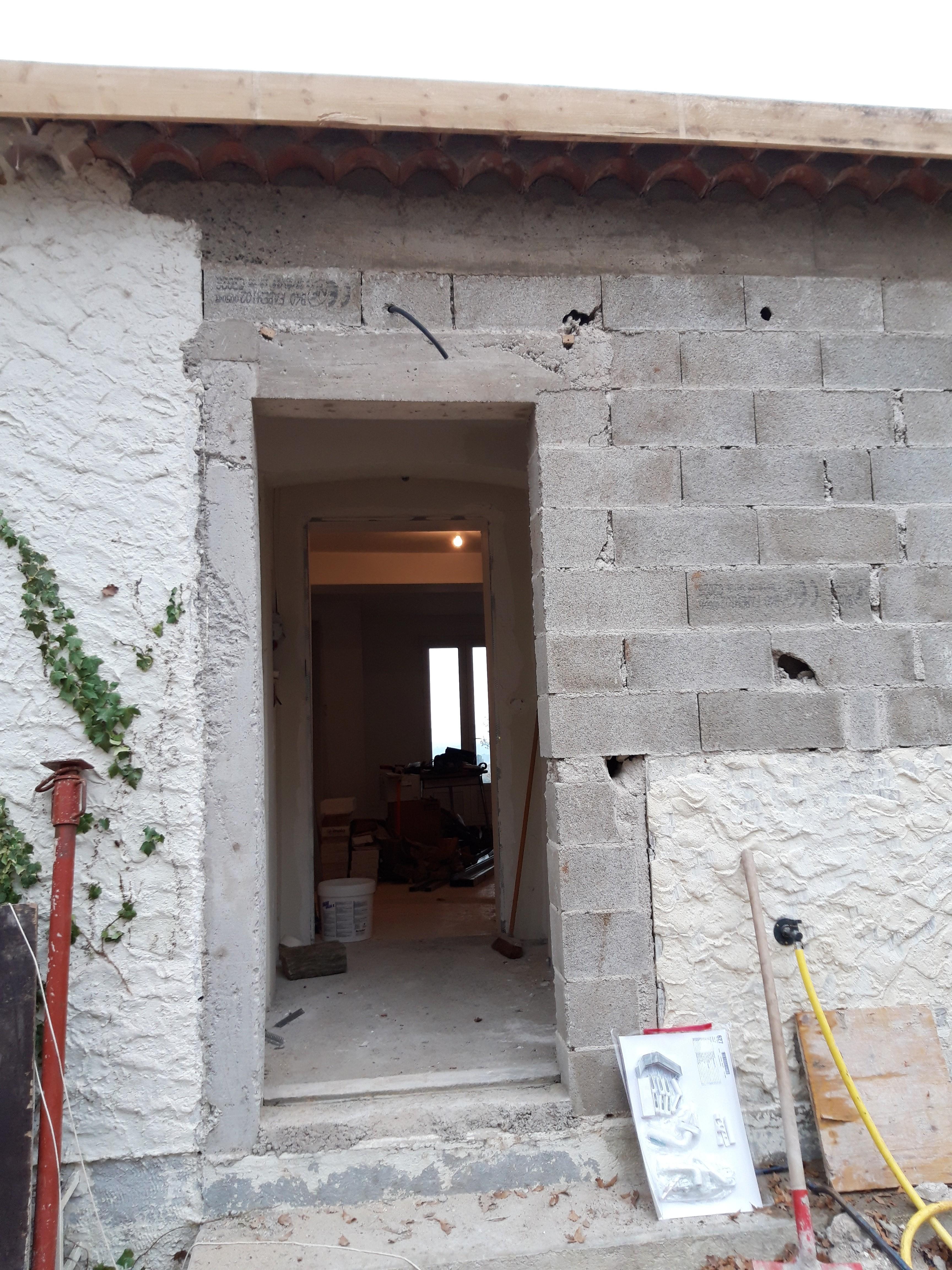 Encadrement porte pierre reconstituée (4)