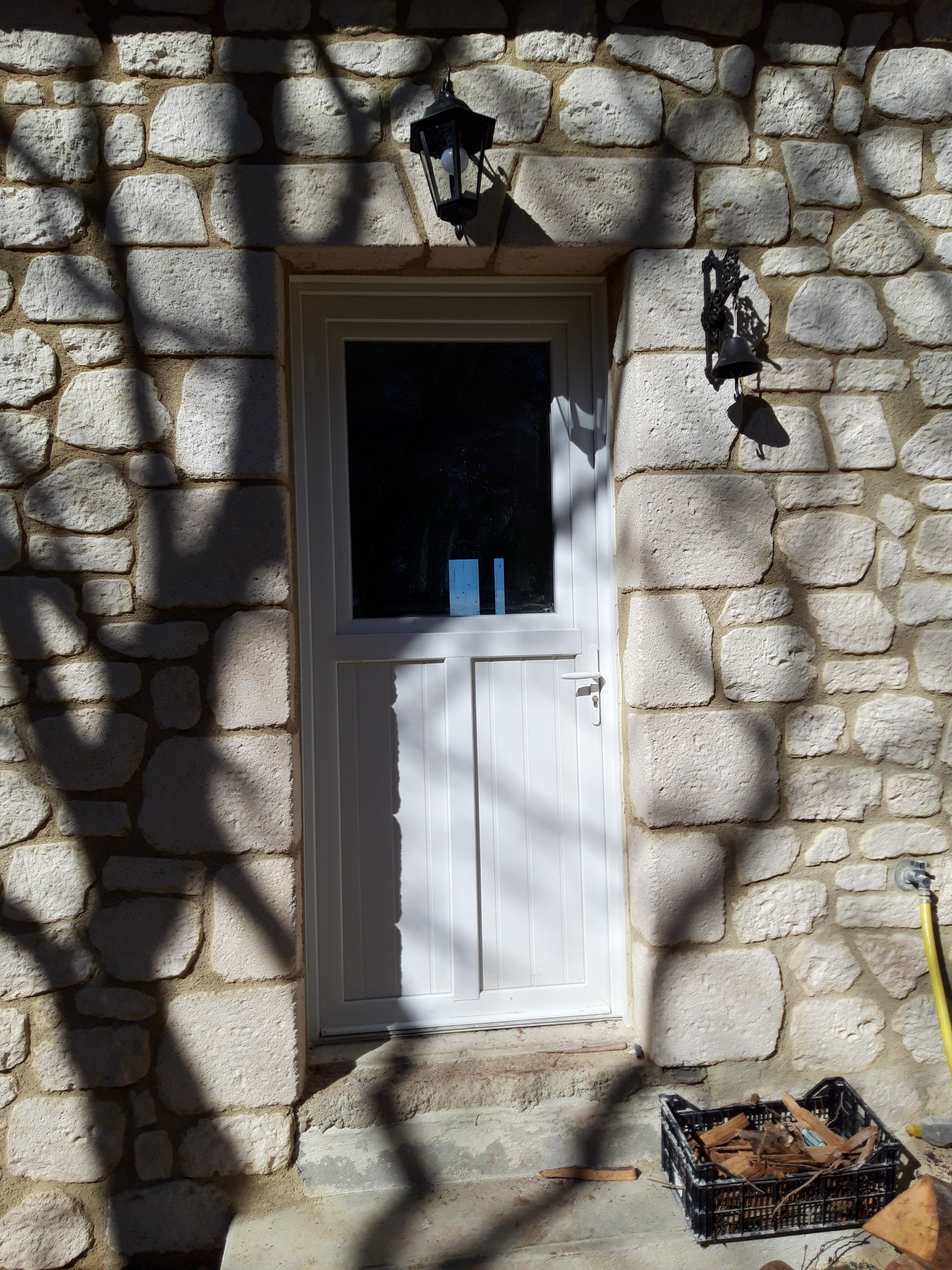 Encadrement porte pierre reconstituée (9)