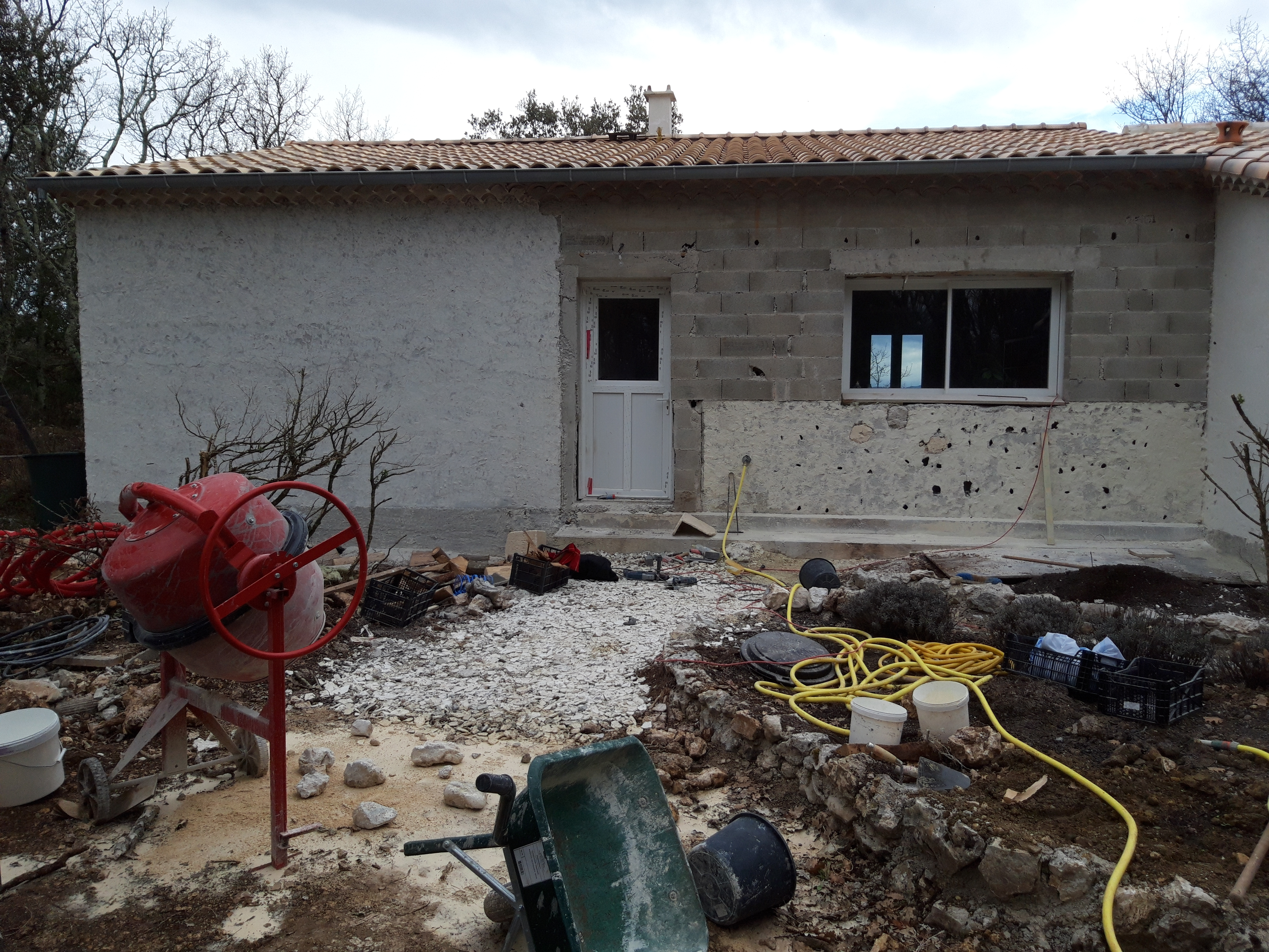 Parement façade pierre reconstituée (2)