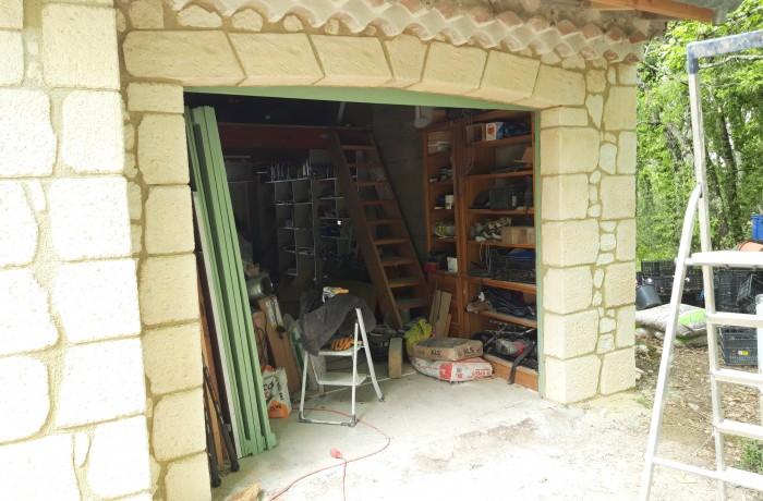 Linteau pierre reconstituée