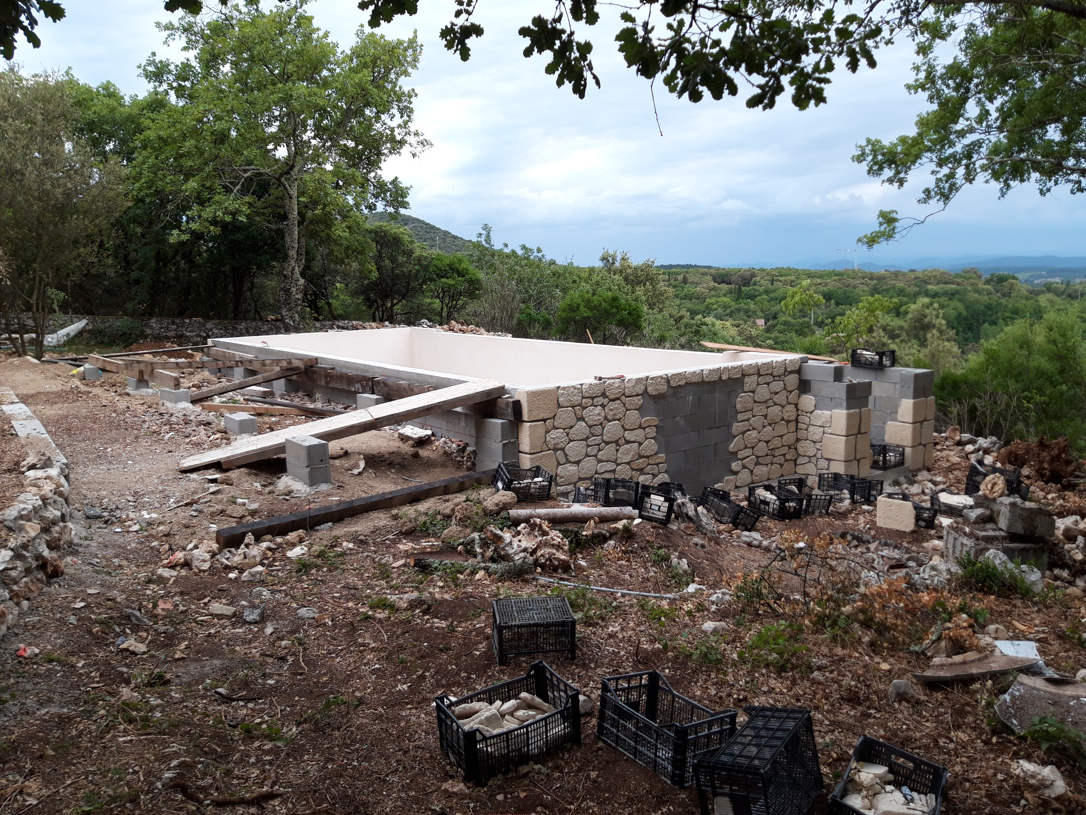 Terrasse bois pîscine (1)