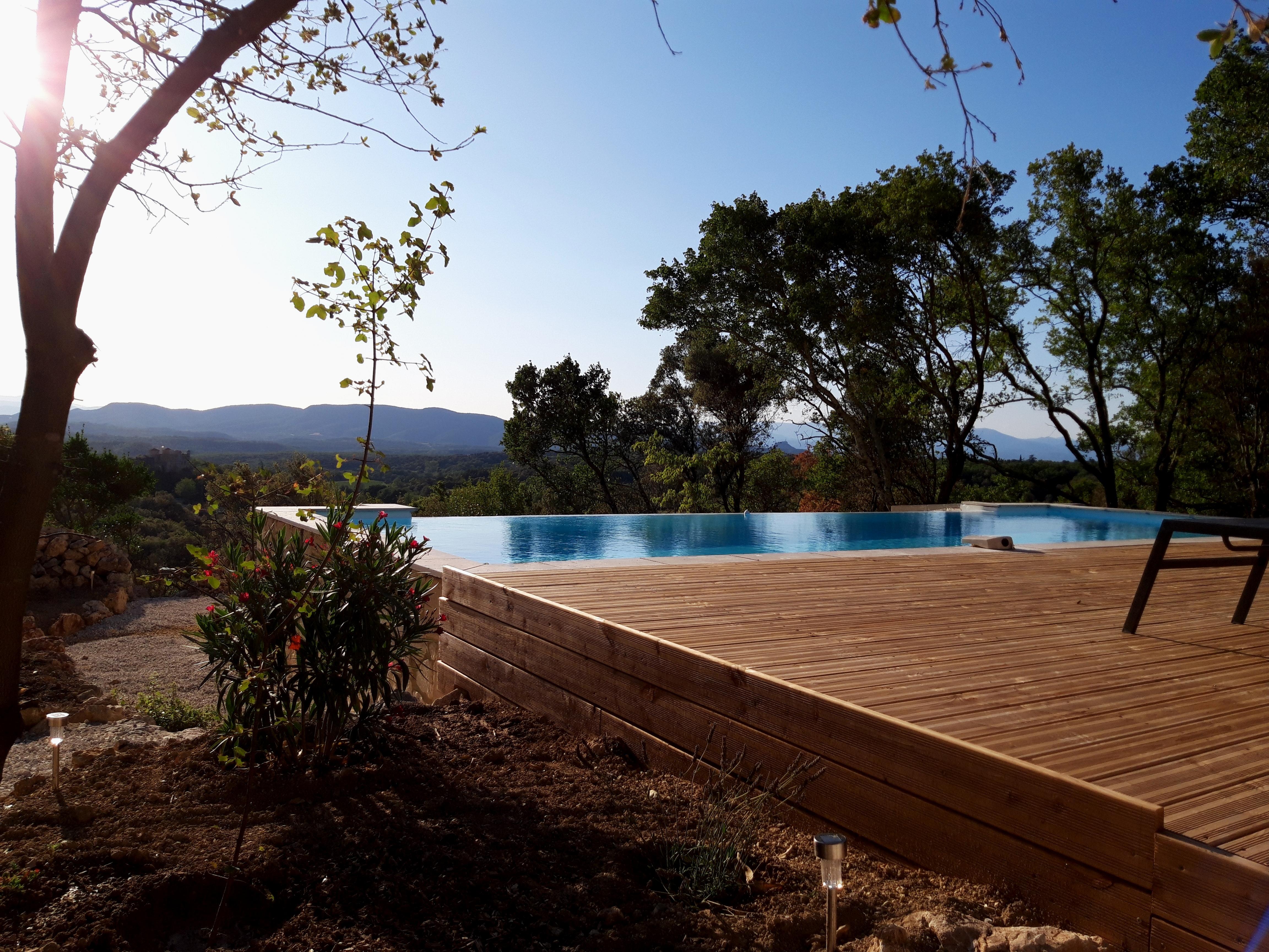 Terrasse bois pîscine (10)