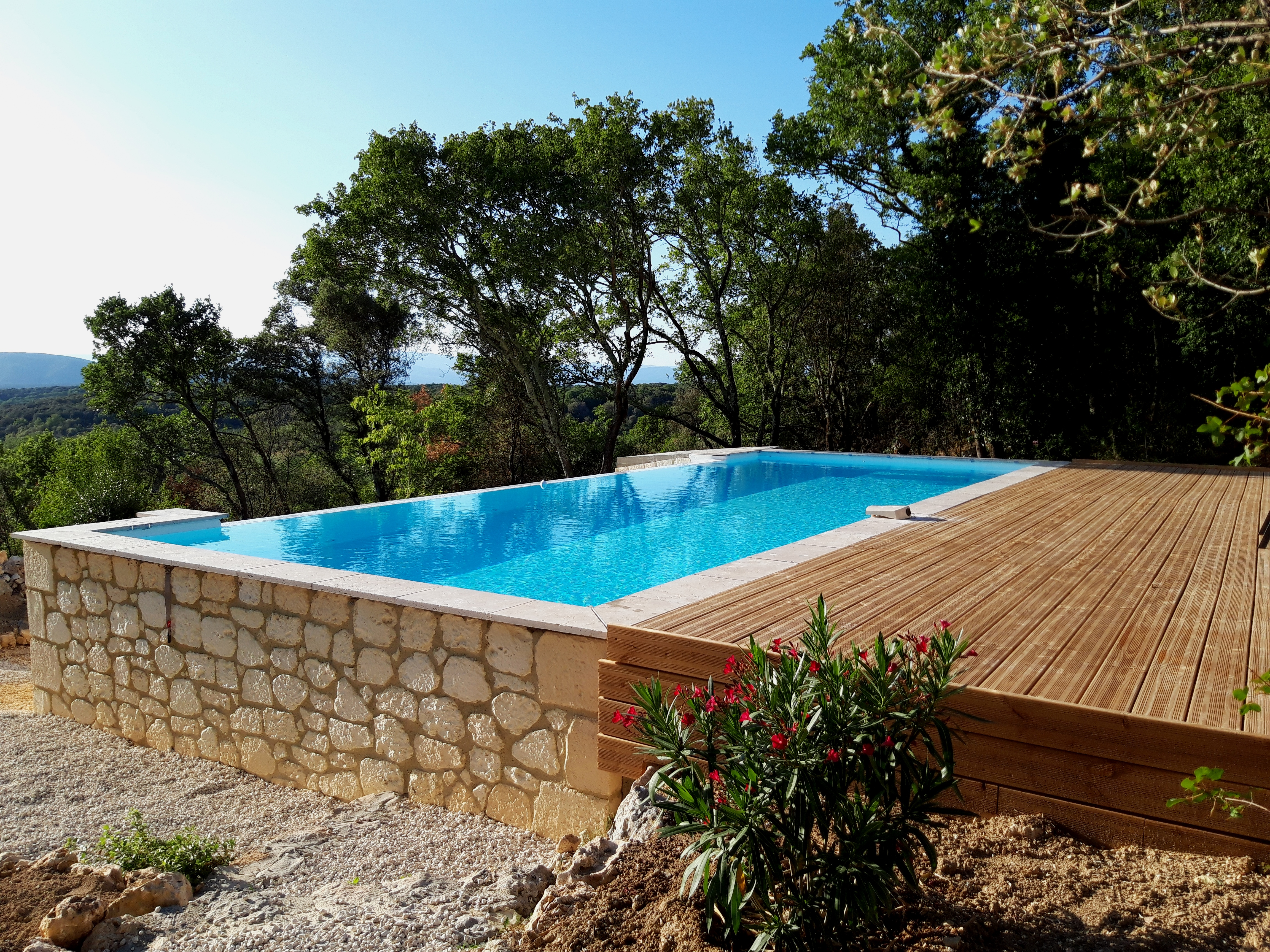 Terrasse bois pîscine (8)